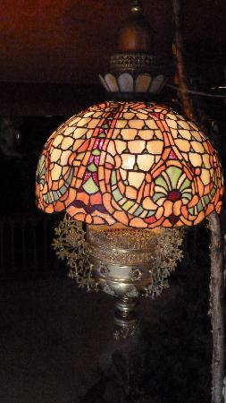 Spring Green, WI: One of the many Tiffany lamps