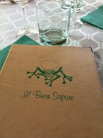 Il Buon Sapore: die karte