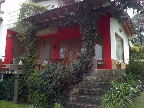 Las Luciérnagas: Breakfast balcony