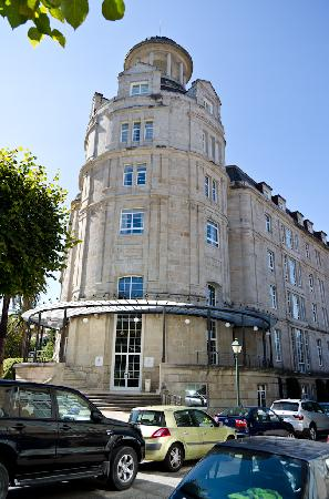 Balneario de Mondariz: One of the buildings of the hotel