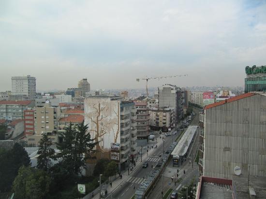 Cliphotel Gaia Porto: Aussicht aus dem 8. Stock blickend auf Porto