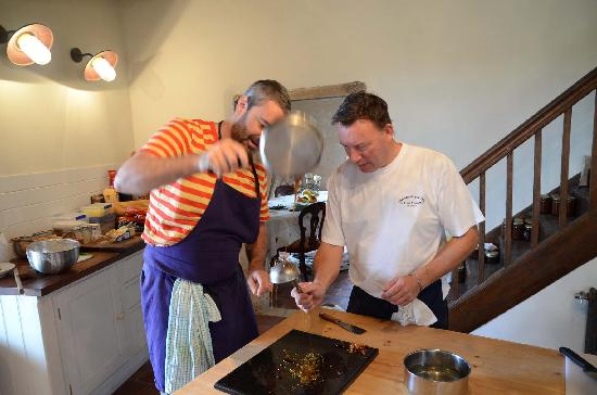 The Gascony French Cookery School: Getting down to business