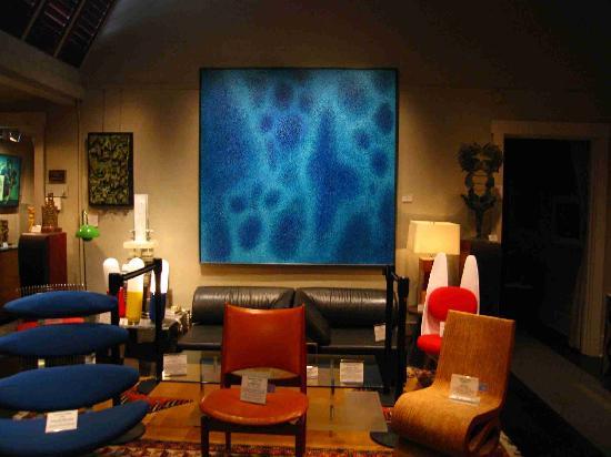 Kirkland Museum Of Fine U0026 Decorative Art: Kirkland Museum Gallery With Mid  Century Modern Furniture
