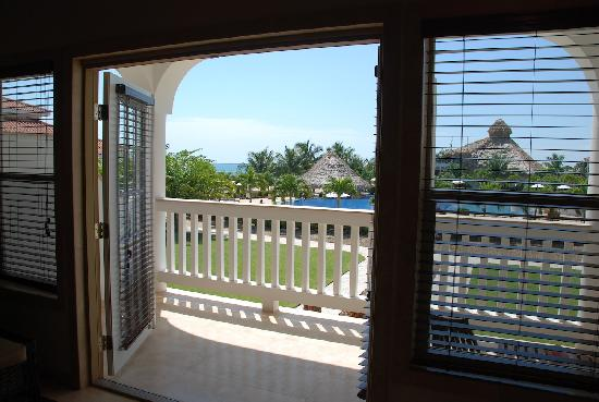 The Placencia Hotel and Residences : View from our room
