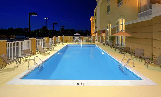 Outdoor Swimming Pool Picture of Hampton Inn Suites Scottsboro