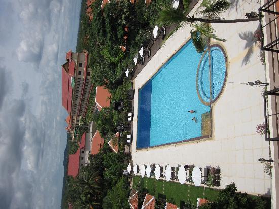 Royal Angkor Resort & Spa: view from balcony