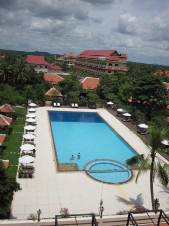 Royal Angkor Resort & Spa: view from balcony