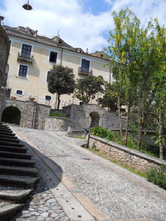Morano Calabro, Itália: ホテル入口