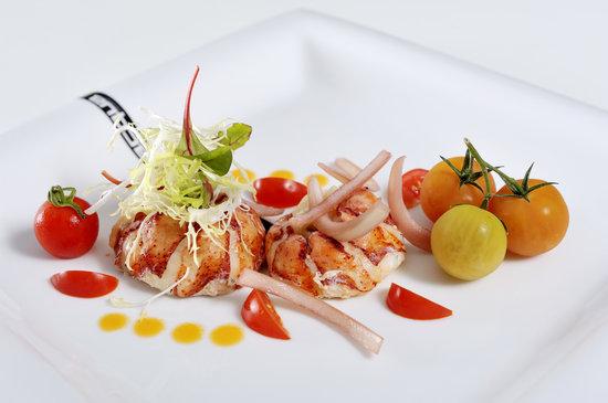 Acqua Restaurant : Lobster salad Catalana style