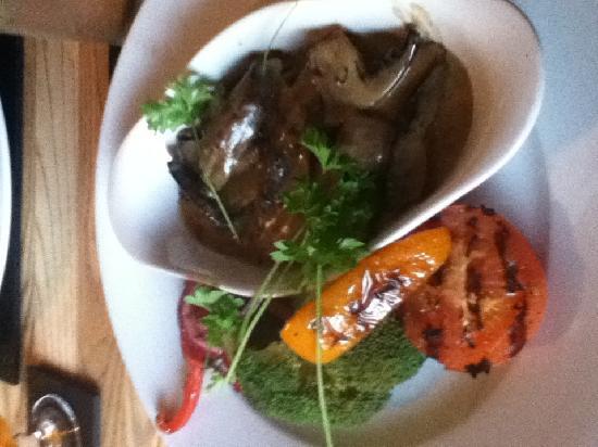 The Druid Inn: Mushroom Stroganoff, tasty