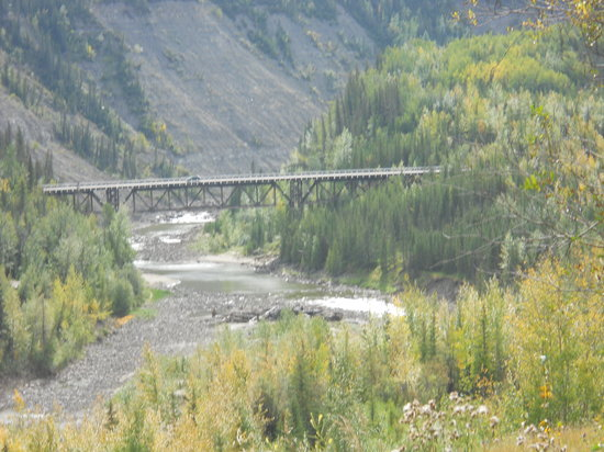 Kiskatinaw Bridge: one view of the bridge