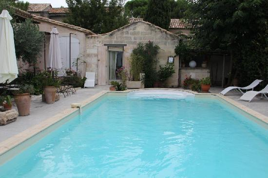 L'Oustau de Moungran : piscine