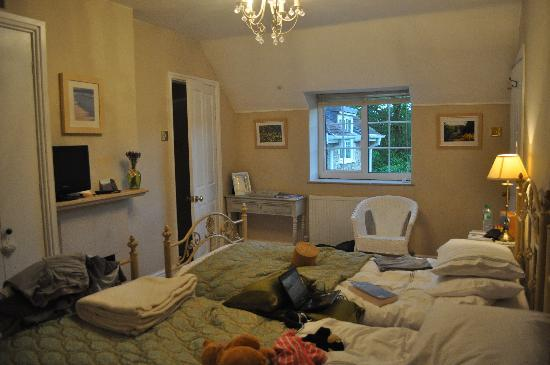 Priory Cottage Bed & Breakfast: Chambre verte (2 lits)