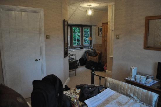 Priory Cottage Bed & Breakfast: Chambre marron (lit double)