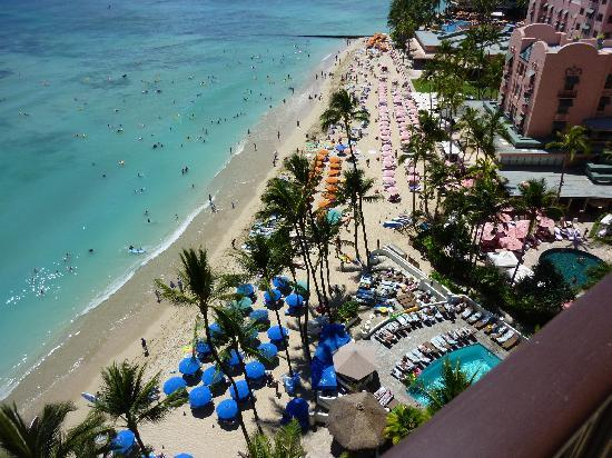Outrigger Waikiki Beach Resort View From My Balcony