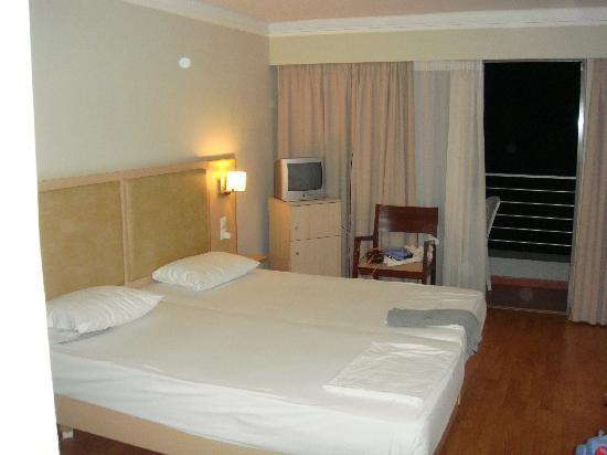 Triton Hotel: our room