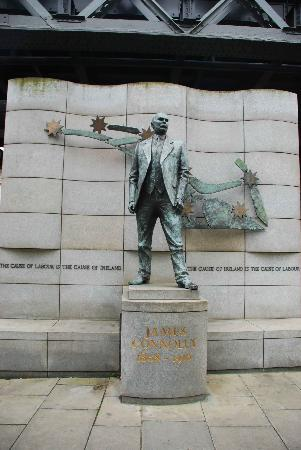 James Connolly Memorial Statue : The statue