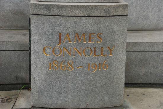 James Connolly Memorial Statue : Inscription