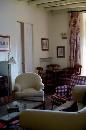 Hotel Posada de Valdezufre: Salón