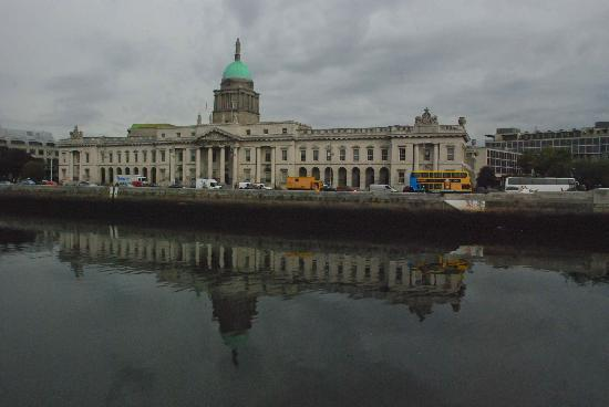 The Custom House: River Liffey reflections
