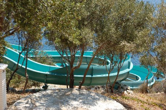 "Aquapark Hotel: slide - the more ""gentle one"""