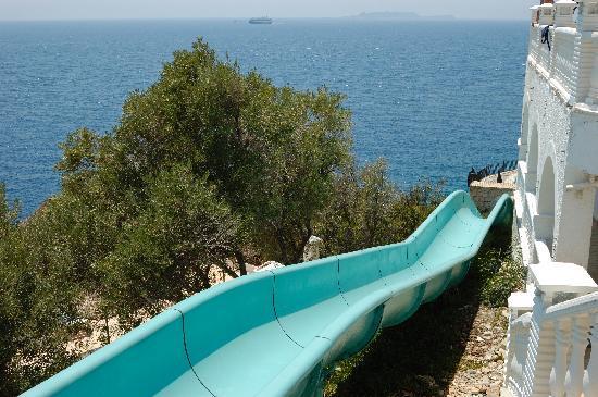 Aquapark Hotel: slide - steeper and faster