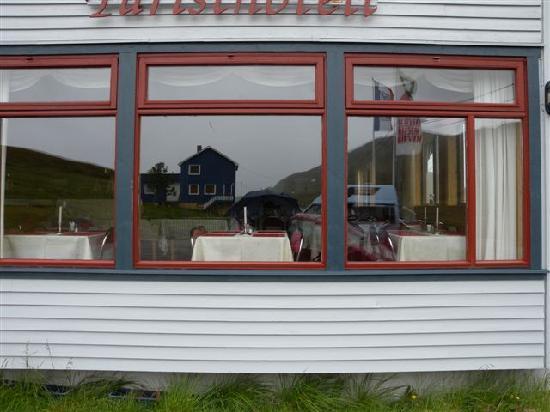 Nordkapp Turisthotell: la sala colazione