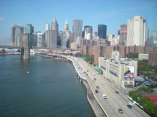 Nueva York, Estado de Nueva York: view from the Manhattan Bridge
