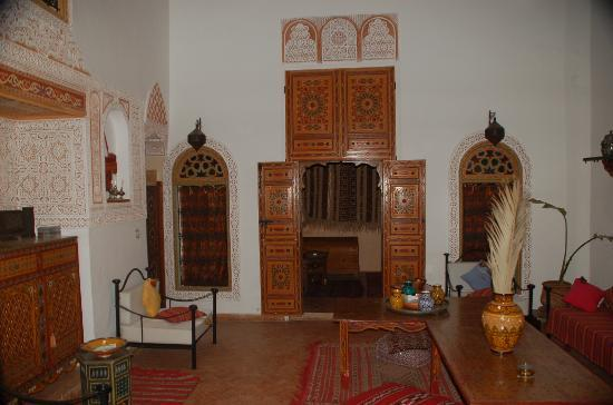 Riad Safir: traditional interior