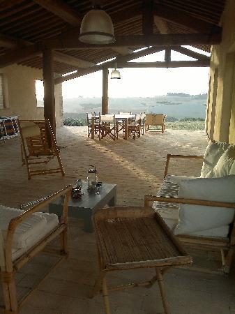 Podre al Salcio: verandah, great!