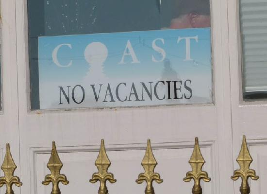 Coast Guest Accommodation: That's no surprise. Everyone would want to stay here