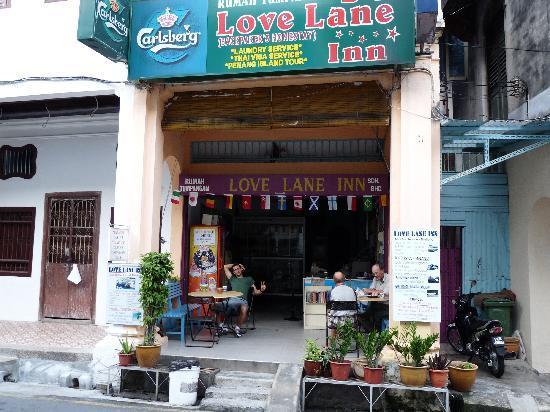 Love Lane Inn: la vista dalla strada