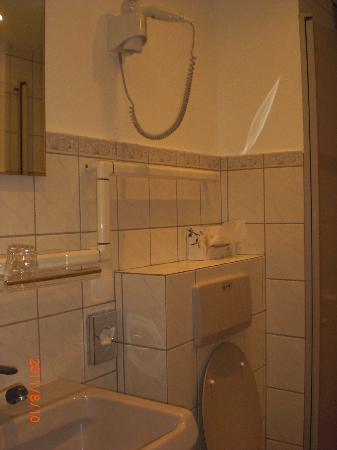 Merian Hotel: 清潔で機能的なバスルーム
