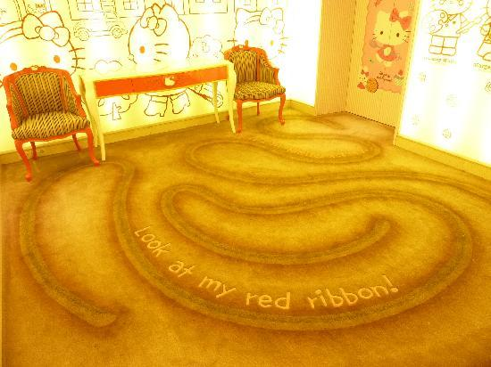 Lotte Hotel Jeju: The 'Hello Kitty' floor