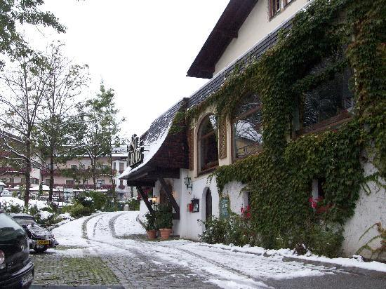 Hotel St. Georg: A brief September snowfall