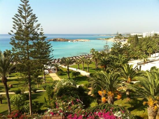 Nissi Beach Resort: sea view room
