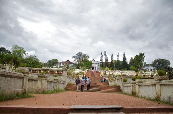 Hill Palace of Tripunithura: Hill Palace, front view