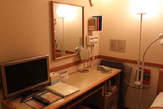 Toyoko Inn Tameike Sanno Eki Kantei Minami: 部屋内