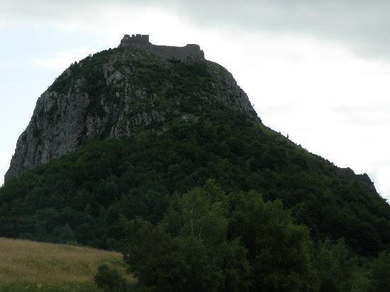 Chateau de Montsegur: From parking lot