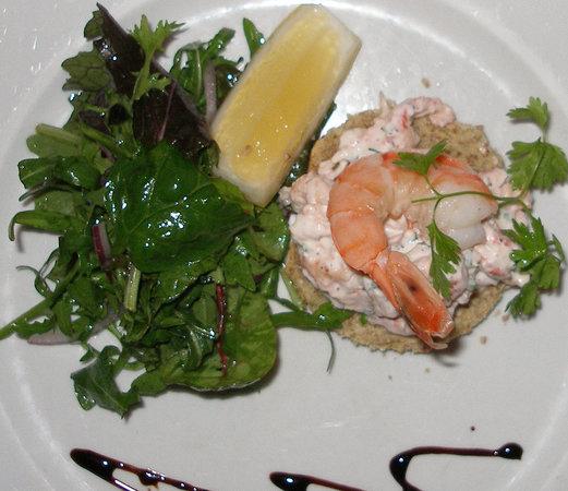 Aqua Restaurant: Prawn Crayfish salad