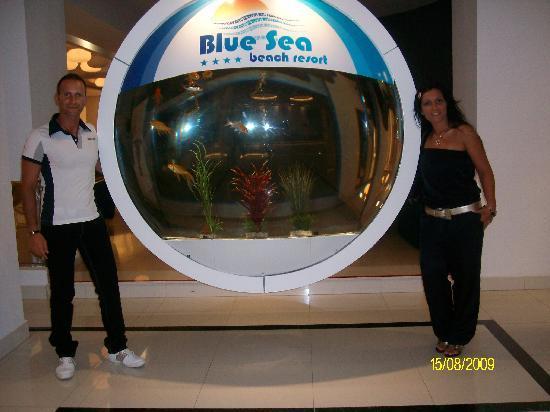 Blue Sea Beach Resort: Acquario Blue Sea