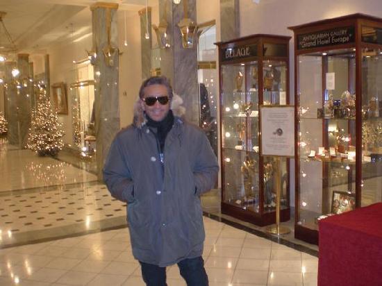 Belmond Grand Hotel Europe: Interno Hotel