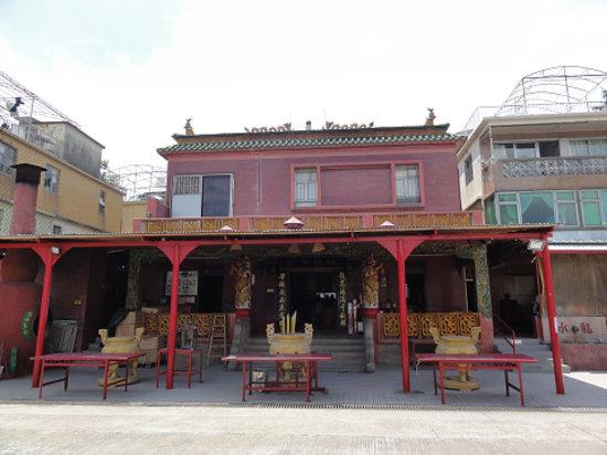 Peng chau Island (Ping chau, Pingzhou) : 龍を祭るお堂
