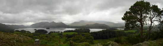 LakeSide House: Lovely panorama I took up at Castlehead