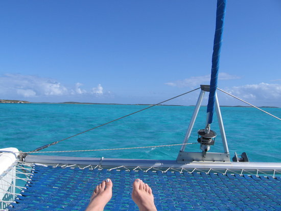 Paradise Found Sailing: No, these are not the Captains toes...
