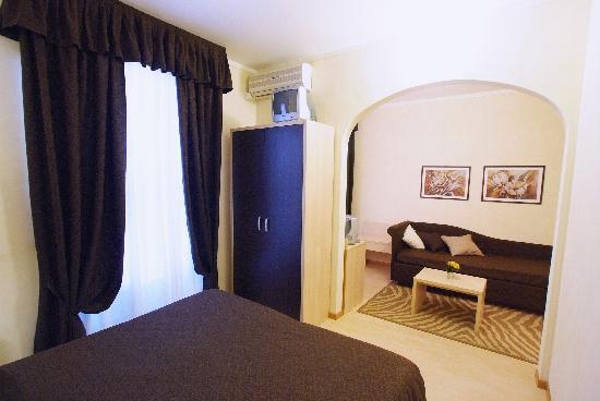 Hotel Massimo D'Azeglio: La jr suite