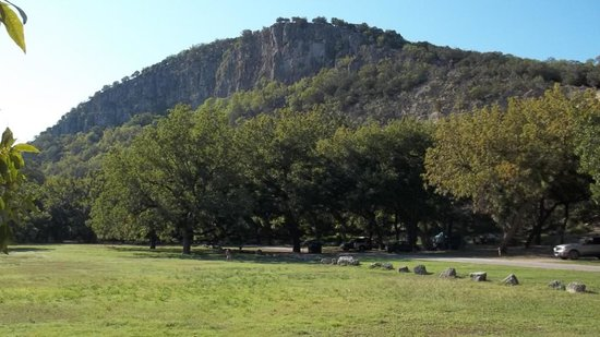 "Texas: Campsites in ""Old Garner"""