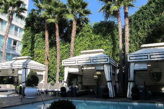 Viceroy Santa Monica: Lovely calm pool area