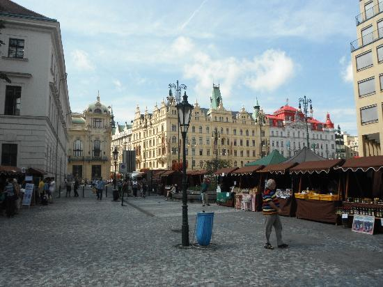 Hotel Kings Court: Namesti republiky (Republic Square)