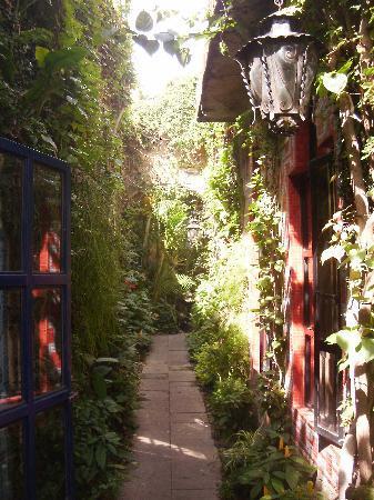 Las Sabilas : hallway